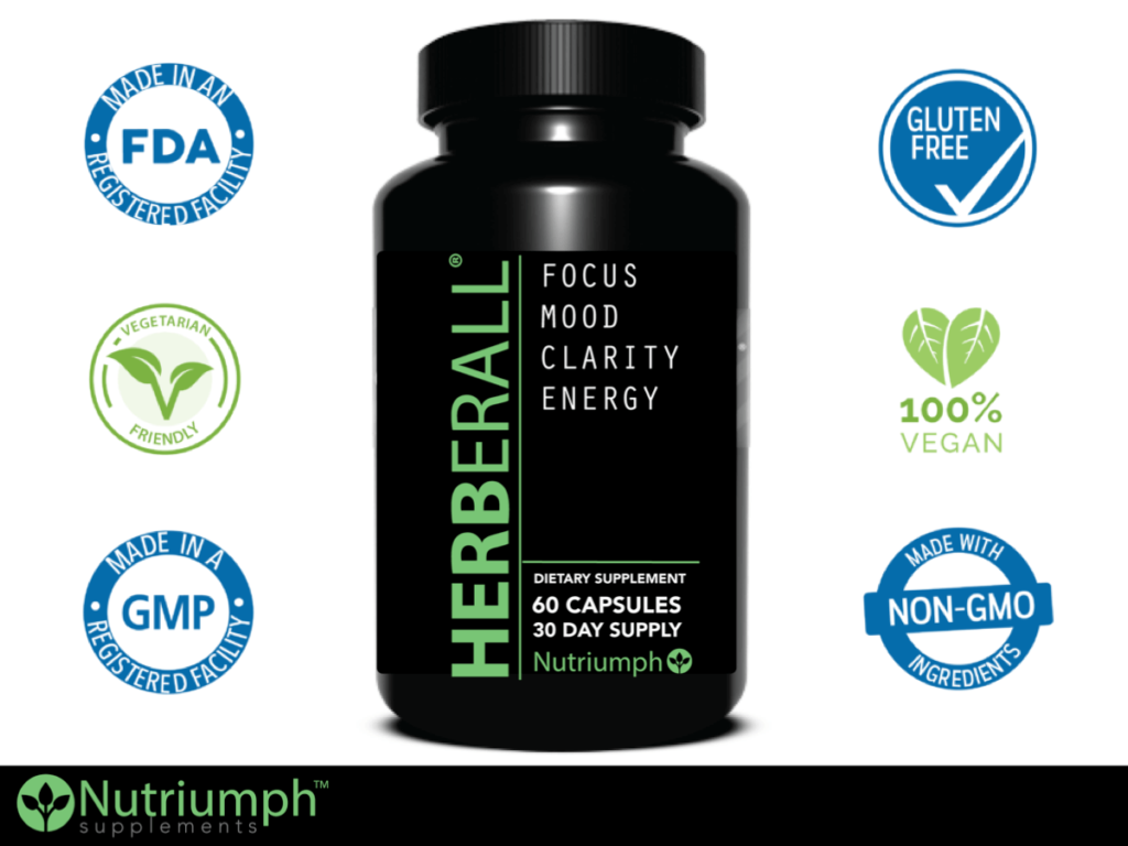 Herberall Review - Nootropic that Supports Focus and Boosts