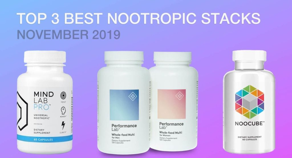 best nootropic stacks to beat anxiety, depression and stress in 2019 noocube mind lab pro performance lab supplements are best nootropic supplements in the market today improve your brain power, memory, focus, and cognition