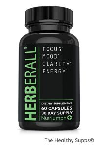 herberall is the first organic brain pills and notable herbal nootropic that aims to enhance cognitive function along with memory focus attention top smart drugs in 2021
